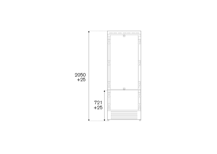 75 cm Built-In Bottom Mount, Panel Ready Left hinges | Bertazzoni