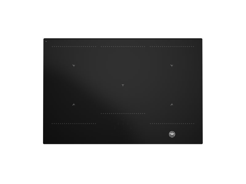 78 cm Induction Hob, 2 multizone | Bertazzoni - Nero