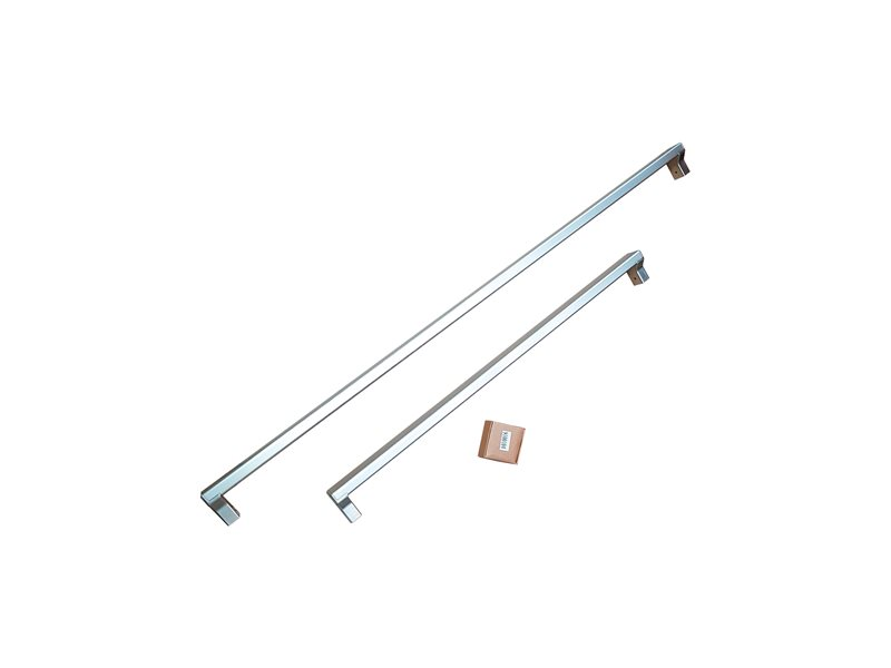 Handle Kit for 75 cm Built-in refrigerators | Bertazzoni - Stainless Steel